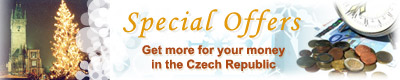 Special Offers - Get more for your money in the Czech Republic